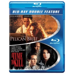 Pelican Brief / A Time to Kill Blu-ray Cover