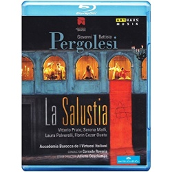 Pergolesi: La Salustia Blu-ray Cover