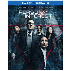 Person of Interest Fifth Season Blu-ray