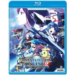 Phantasy Star Online 2: The Animation Blu-ray Cover