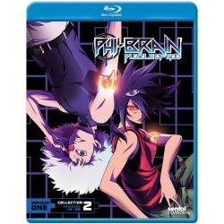 Phi-Brain: Puzzle of God - Season One, Collection Two Blu-ray Cover