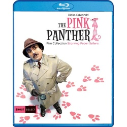 Pink Panther Film Collection Blu-ray Cover