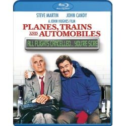 Planes Trains and Automobiles Blu-ray Cover