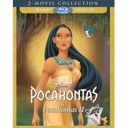 Pocahontas / Pocahontas II Blu-ray Cover