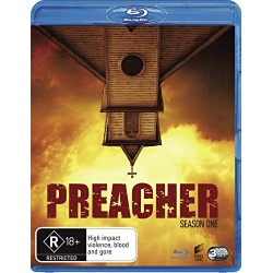 Preacher: Season 1 Blu-ray Cover