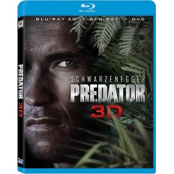 Predator 3D Blu-ray Cover