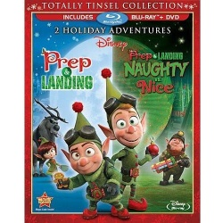 Prep & Landing: 2 Holiday Adventure Collection Blu-ray Cover