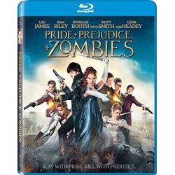 Pride + Prejudice + Zombies Blu-ray