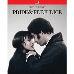 Pride & Prejudice Blu-ray Cover