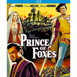 Prince of Foxes Blu-ray Cover