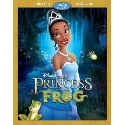 Princess and the Frog Blu-ray Cover