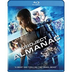 Project Almanac Blu-ray Cover