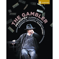 Prokofiev: The Gambler Blu-ray Cover
