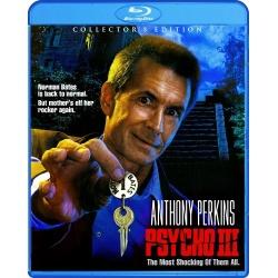 Psycho III Blu-ray Cover