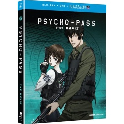 Psycho-Pass: The Movie Blu-ray Cover