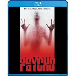 Psycho Blu-ray Cover