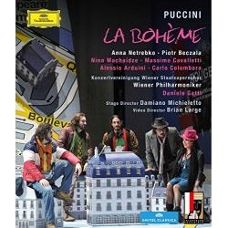 Puccini: La Boheme Blu-ray Cover