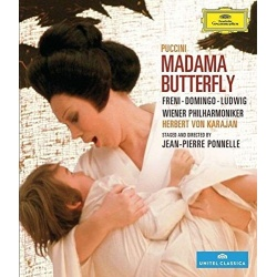 Puccini: Madama Butterfly Blu-ray Cover
