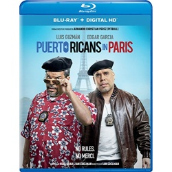 Puerto Ricans in Paris Blu-ray Cover