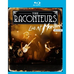 Raconteurs: Live at Montreux 2008 Blu-ray Cover