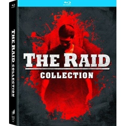 Raid: Redemption / The Raid 2 Blu-ray Cover