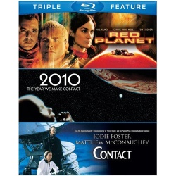 Red Planet / 2010: The Year We Make Contact / Contact Blu-ray Cover