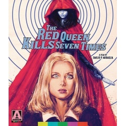 Red Queen Kills Seven Times Blu-ray Cover