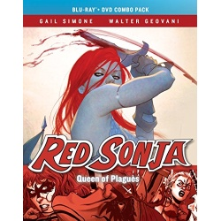 Red Sonja: Queen of Plagues Blu-ray Cover