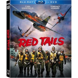 Red Tails Blu-ray Cover
