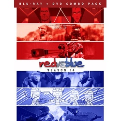 Red vs. Blue: Season 14 Blu-ray Cover