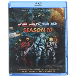 Red vs. Blue: Season Ten Blu-ray Cover