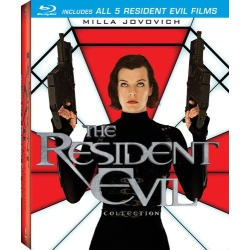 Resident Evil Collection Blu-ray Cover