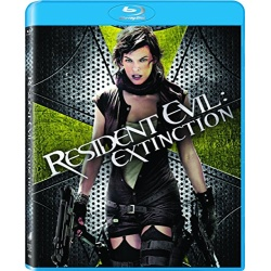 Resident Evil: Extinction Blu-ray Cover