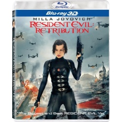 Resident Evil: Retribution Blu-ray Cover
