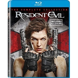 Resident Evil: The Complete Collection Blu-ray Cover