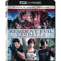 Resident Evil: Vendetta Blu-ray Cover