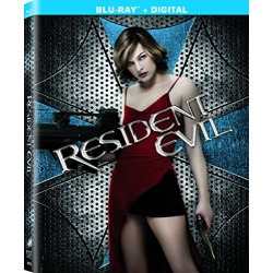 Resident Evil Blu-ray Cover