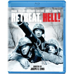 Retreat, Hell! Blu-ray Cover
