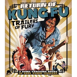 Return of Kung Fu Trailers of Fury Blu-ray Cover