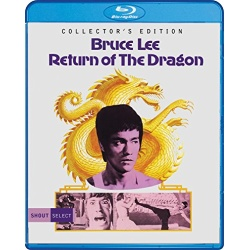 Return of the Dragon Blu-ray Cover