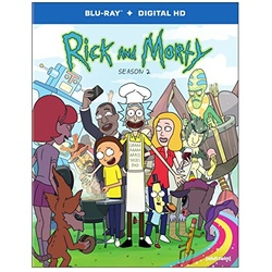 Rick and Morty: Second 2 Blu-ray Cover