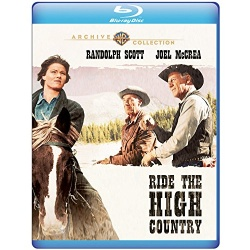Ride the High Country Blu-ray Cover