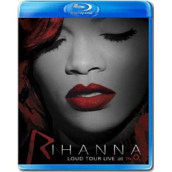 Rihanna: Loud Tour Live at the 02 Blu-ray Cover