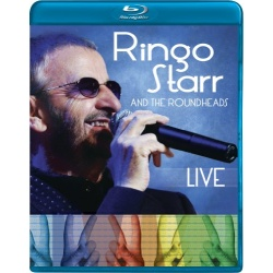 Ringo Starr and the Roundheads: Live Blu-ray Cover