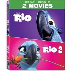 Rio / Rio 2 Blu-ray Cover