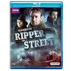 Ripper Street: Season 5 Blu-ray Cover