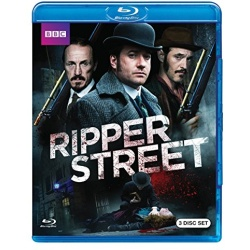 Ripper Street Blu-ray Cover