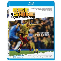 Rise & Shine: The Jay DeMerit Story Blu-ray Cover