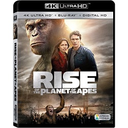 Rise of the Planet of the Apes Blu-ray Cover