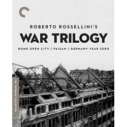 Roberto Rossellini's War Trilogy Blu-ray Cover